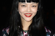 Rila Fukushima Long Straight Cut with Bangs