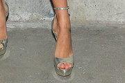 Hailey Baldwin Platform Sandals