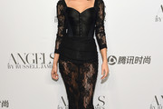 Isabeli Fontana Corset Dress