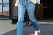 Busy Philipps Ripped Jeans