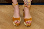 Whitney Port Platform Sandals