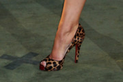 Ali Bastian Peep Toe Pumps