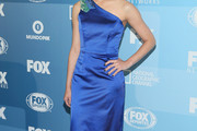 Morena Baccarin One Shoulder Dress