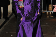 Zoe Wanamaker Evening Coat
