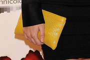Xenia Tostado Patent Leather Clutch