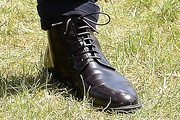 Sam Claflin Lace Up Boots