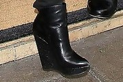 Pattie Mallette Wedge Boots