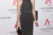 Cristin Milioti Halter Dress