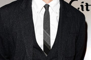 Joel Edgerton Striped Tie