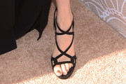 Darby Stanchfield Strappy Sandals