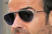 Justin Theroux Aviator Sunglasses
