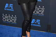 Roma Downey Leather Pants