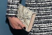 Christina Ricci Printed Clutch