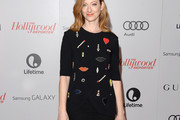 Judy Greer Embellished Top
