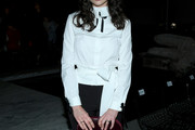 Crystal Reed Button Down Shirt