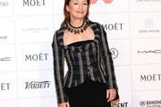 Lesley Manville Fitted Jacket