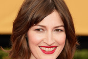 Kelly Macdonald Short Wavy Cut