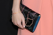 Dakota Fanning Beaded Clutch