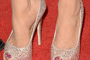 Marie Osmond Peep Toe Pumps