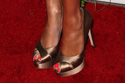 Joanna Krupa Peep Toe Pumps