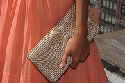 India de Beaufort Beaded Clutch