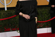 Meryl Streep Off-the-Shoulder Dress