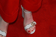 Claire Foy Strappy Sandals