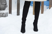 Marion Cotillard Over the Knee Boots