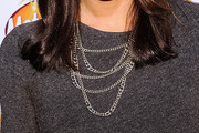 Janet Evans Layered Chainlink Necklaces