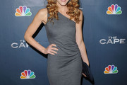 Jennifer Ferrin One Shoulder Dress