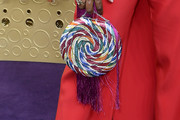 Angela Bassett Beaded Purse