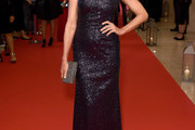 Andie MacDowell Sequin Dress