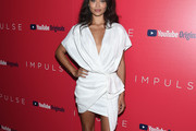 Shanina Shaik Wrap Dress