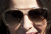Juliette Binoche Floating Lens Sunglasses