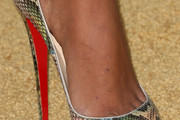 Claudia Jordan Peep Toe Pumps