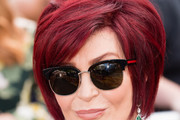 Sharon Osbourne Short Cut With Bangs
