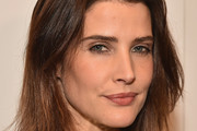 Cobie Smulders Side Parted Straight Cut