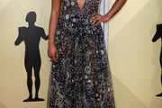 Samira Wiley Embroidered Dress