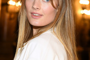 Constance Jablonski Long Straight Cut with Bangs