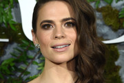 Hayley Atwell Side Swept Curls