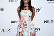Cari Champion Print Dress