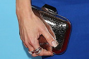 Julie Benz Metallic Clutch