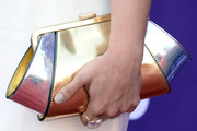 Jaida Dreyer Metallic Clutch
