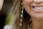 Queen Maxima Dangling Gemstone Earrings