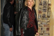 Amber Valletta Leather Jacket