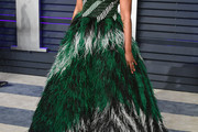 Tiffany Haddish Strapless Dress