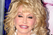 Dolly Parton Medium Curls with Bangs