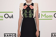 Jill Kargman Embroidered Dress