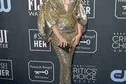 Anne Hathaway Sequin Dress