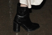 Emma Roberts Ankle Boots